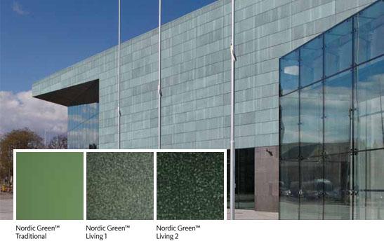 Aurubis Architectural Nordic Green Surfaces